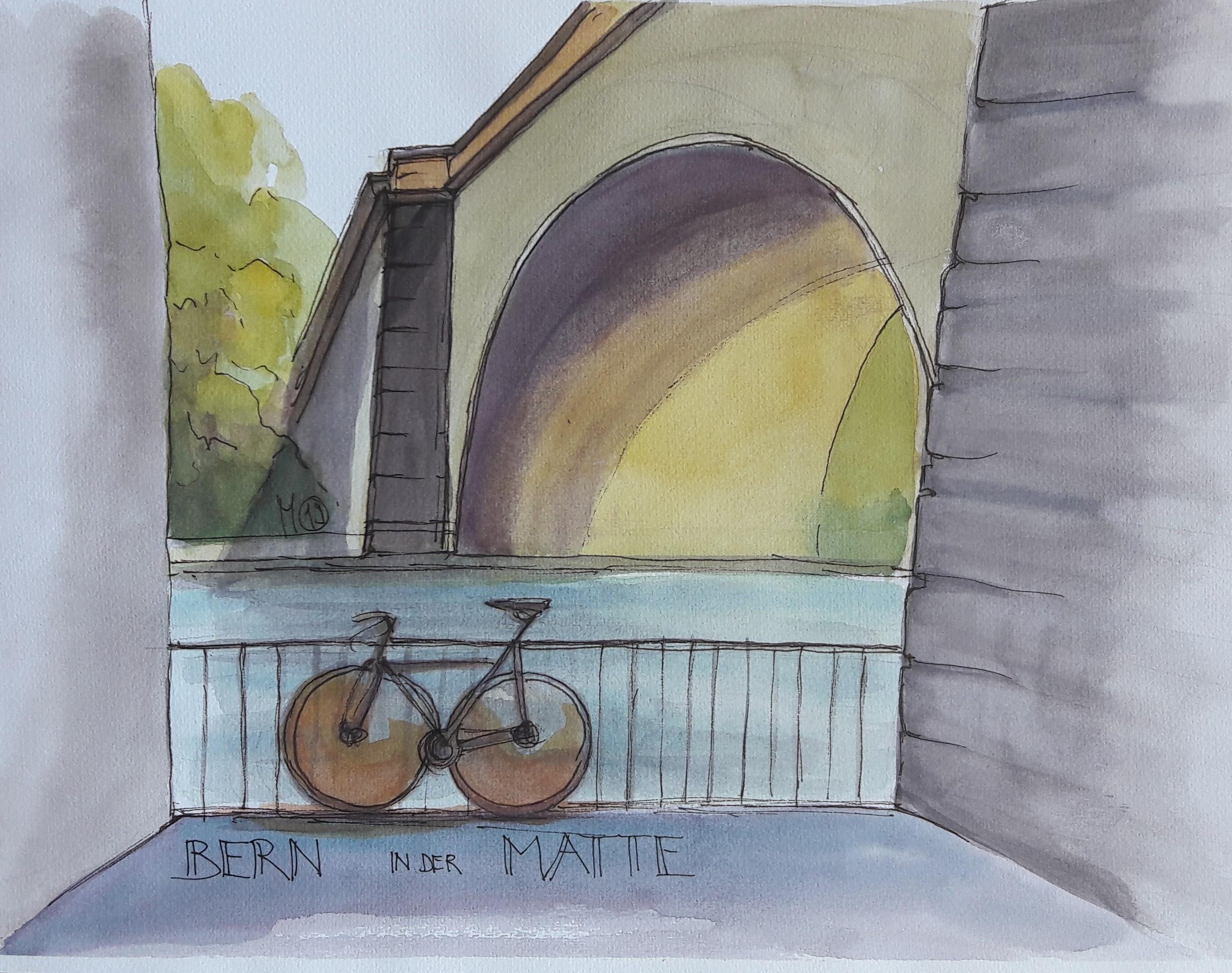 Bern: Unter der Nydeggbrücke