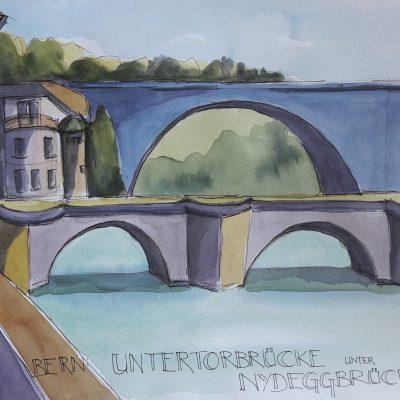 Bern: Nydegg- und Untertorbrücke