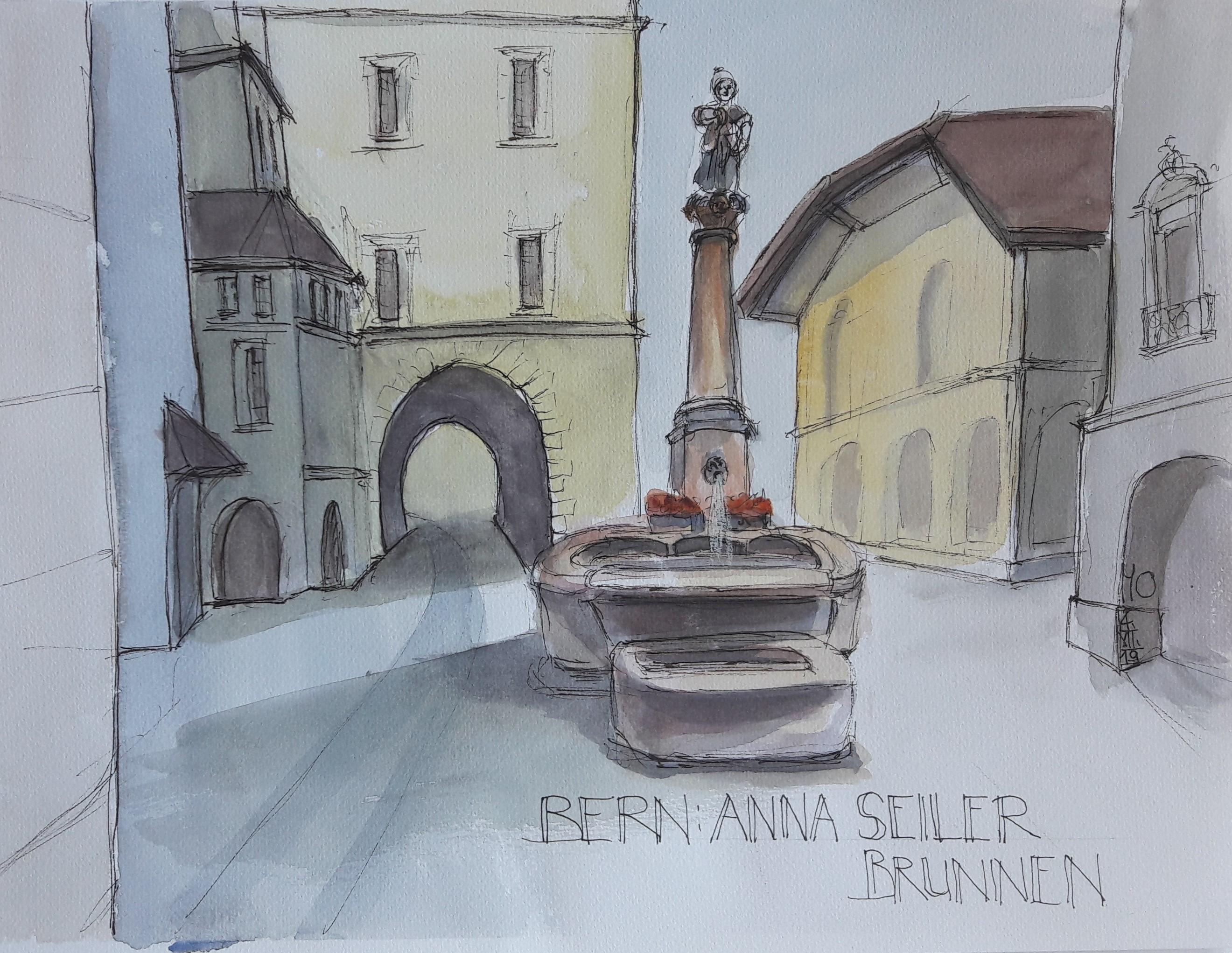 Bern: St. Anna Brunnen