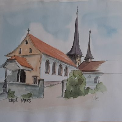 Tafers: Kirche